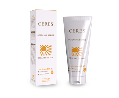 Cell Protection Sun Screen SPF50 Cream