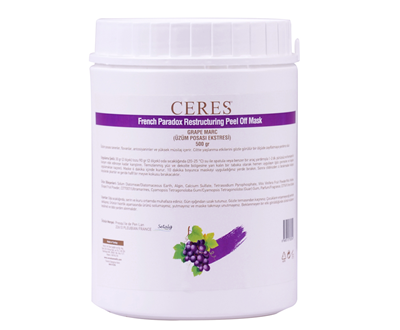 "FRENCH PARADOX RESTRUCTURING PEEL OFF MASK GRAPE MARC ""KIRIŞIKLIK GİDERİCİ ETKİ"""
